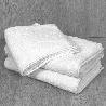 Toalla blanca económica 450 grs