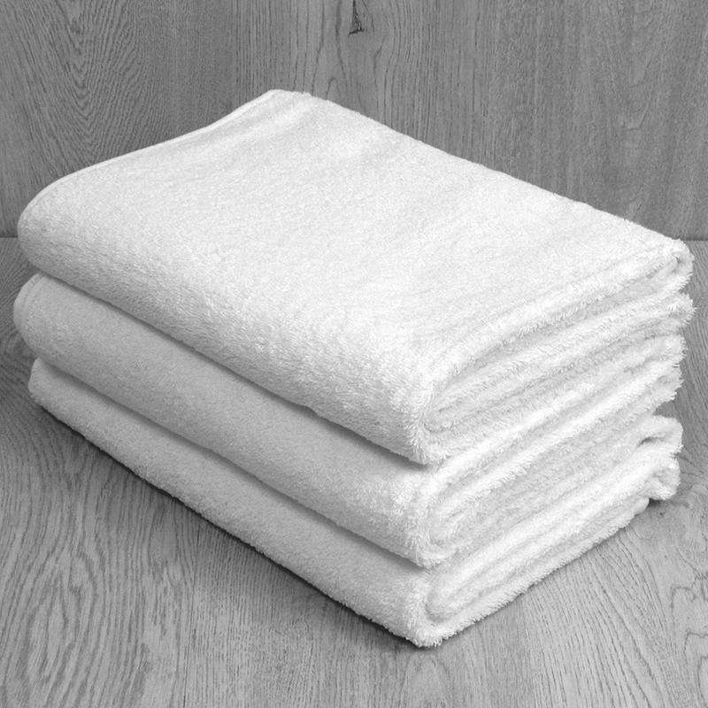 Toalla blanca 600 grs 100% algodón