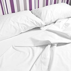 Funda sábana almohada 100% algodón
