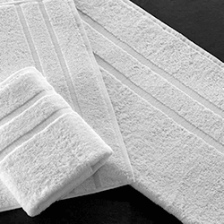 White towel 500 grs 100% cotton