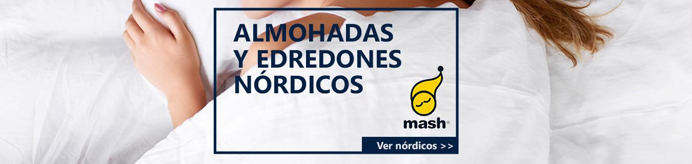 Almohadas y edredones Mash